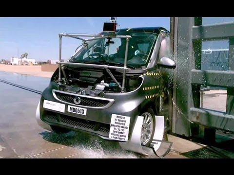 2013 Smart Fortwo Electric Drive | Краш-тест