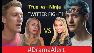 Ninja vs Tfue TWITTER WAR! #DramaAlert PewDiePie DESTROYS T-series! FaZe Banks Music Video!