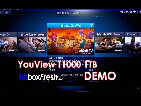 YouView Digital TV Recorder Humax DTR-T1000 / DTR-T1010 - Product Demo by Unbox Fresh