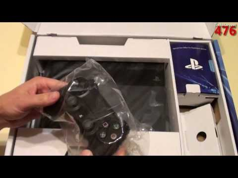 PS4: Sony PlayStation 4 Unboxing