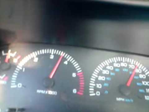 2000 Dodge Ram 1500 5.2 V8 Magnum acceleration