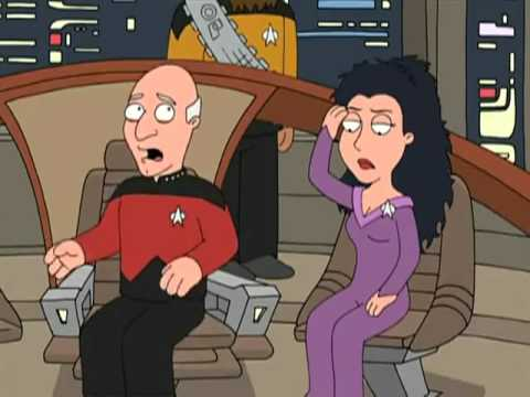 Family Guy Picard and Troi