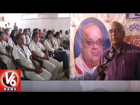 Warangal MGM Hospital Doctors Holds Commemoration Meet Over Dr Krishna Reddy Death | V6 News