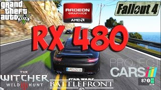 Radeon RX 480 Test in 5 Games (i5 4690k)