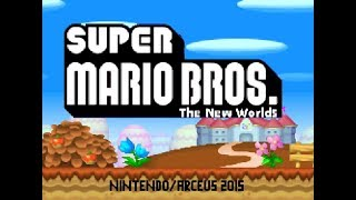 【Newer Super Mario Bros】The New Worlds [World1](Remake from DS)
