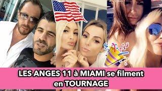 Les 1ères images des ANGES 11 à Miami ! Les Anges se filment pendant le tournage