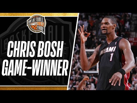 Chris Bosh Hits the Game-Winning 3-Pointer to Beat the Blazers!