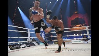 Back Kick KNOCKOUT! - Michael SMOLIK vs. Enver SLJIVAR ׀ Rematch mit KO