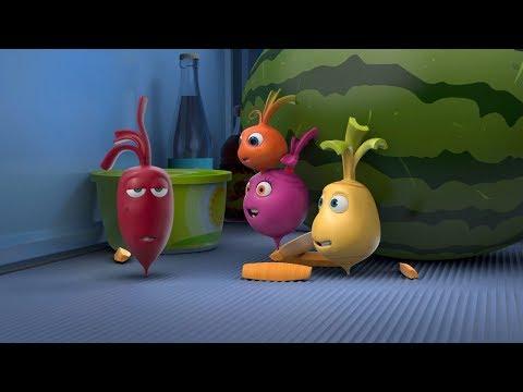 Прикольный мультик «Овощная вечеринка» - Большой Арбуз (1 серия)