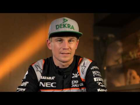 F1 2016 - Hungarian GP preview with Nico Hulkenberg (Force India)