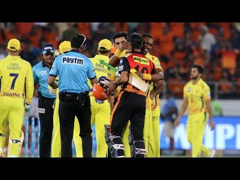CSK VS SRH IPL 2018 Match 20 CSK WIN BY 4 Runs SRH Vs CSK கடைசி பந்தில் சென்னை த்ரில் வெற்றி
