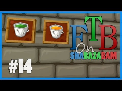 Minecraft FTB - Ep.14 - Convert Biomass To Biofuel Power Plant