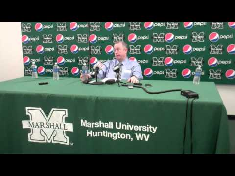 Coach Tom Herrion Postgame Press Conference - East Carolina University (3/2/2014)