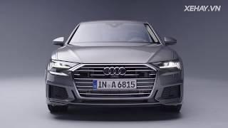 Audi A6 sẵn sàng đối đầu BMW 5-Series với công nghệ và vẻ đẹp của A8 |XEHAY.VN|