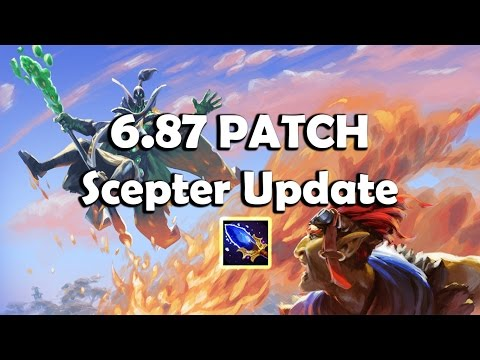 Dota 2 - 6.87 Patch | Aghanim's Scepter Update (All Heroes)