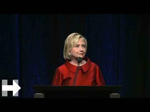 Hillary Clinton's Remarks at the Jefferson Jackson Dinner