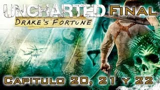 Uncharted: El Tesoro de Drake Walkthrough - Parte 15 FINAL - Español