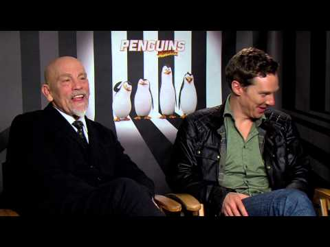Penguins of Madagascar: Benedict Cumberbatch & John Malkovich Official Movie Interview