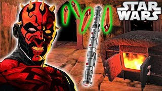 How Darth Maul BUILT His RARE Lightsaber (Animated) - Star Wars Explained
