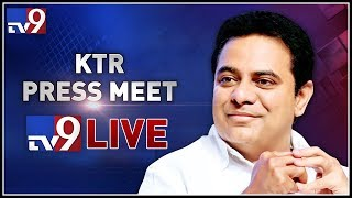 KTR Press Meet LIVE || Other party leaders joins TRS || TRS Bhavan