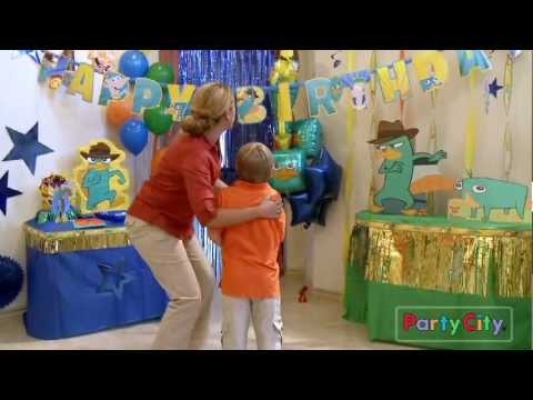 Phineas & Ferb Birthday Party Ideas