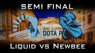 Liquid vs Newbee Semi Final Dota Pit Minor 2017 Highlights Dota 2