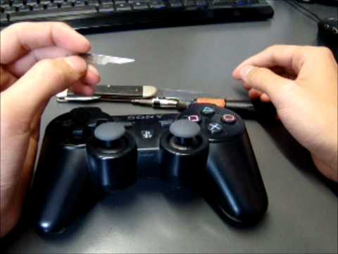 Ps3 Controller mod LED mod German Deutsch part 1