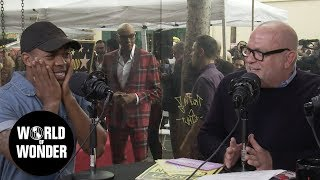 Live from RuPaul's Star Ceremony! WOW Report for Radio Andy w/ Todrick, Candis, Ru, and MORE!