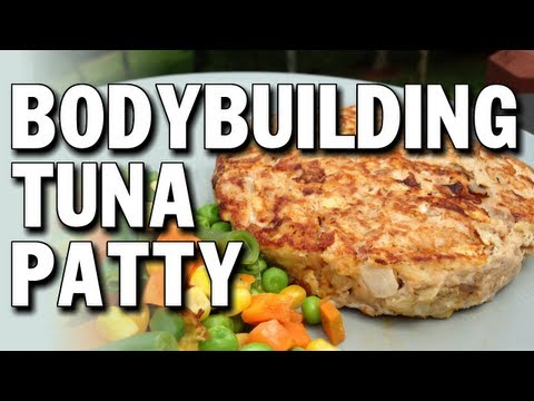 5 Minute Bodybuilding Tuna Patty (Low-Carb)