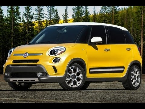 2014 Fiat 500L Start Up and Review 1.4 L MultiAir Turbo 4-Cylinder
