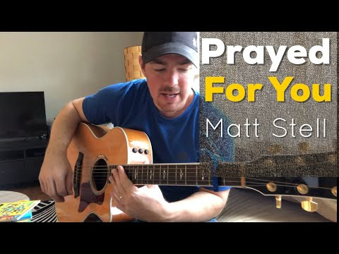 Prayed For You | Matt Stell | Beginner Guitar Lesson