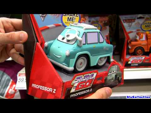 Shake n Go Cars 2 Collection Disney Pixar Cars Toon Mater's tall tales Toys Review by Blucollection