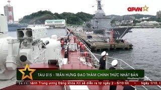 Tàu Hộ vệ tên lửa Gepard của Hải quân Việt Nam thăm Nhật Bản