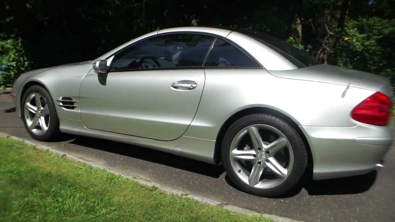 2005 mercedes benz sl500 for sale pano roof beautiful for Mercedes benz 500 sl for sale