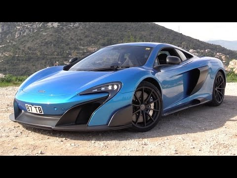 2016 McLaren 675LT Start Up. Test Drive. and In Depth Review