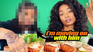 LOBSTER TAIL PHO MUKBANG + TAE LEFT ME! It's over :(