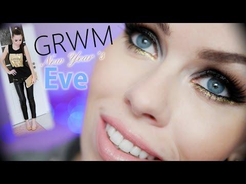 ❉ GRWM New Year´s Eve ❉ | Novoroční párty makeup