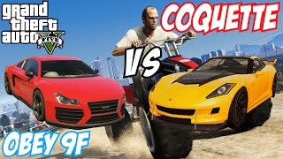 GTA 5 - Obey 9F Vs Coquette | #72 (GTA V)