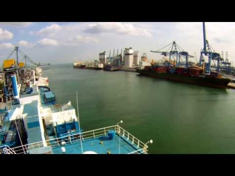 Jurong Port Singapore - Time Lapse