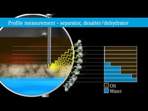 Radiometric interface measurement