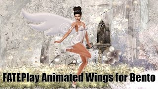 Bento Animated Wings by FATEplay in Second Life