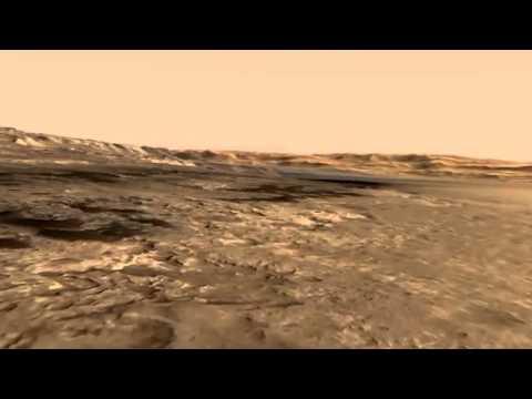 NASA illustrates Gale Crater on Mars