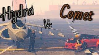 GTA 5: Pfister Comet Retro Vs Hydra #Editeur Rockstar# (Machinima)