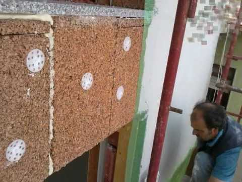 Isolamento termico a cappotto in sughero youtube - Isolamento a cappotto interno ...