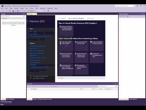 How to create a Setup Project in Visual Studio 2012