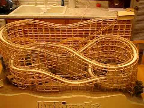 Archimedes - Marble Roller Coaster