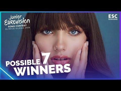 Junior Eurovision 2019 - 7 Possible Winners (With comments)