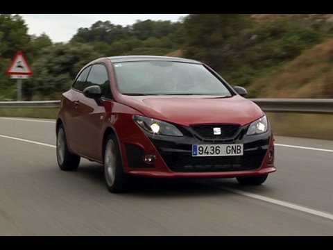Seat Ibiza Cupra Bocanegra roadtest (english subtitled)
