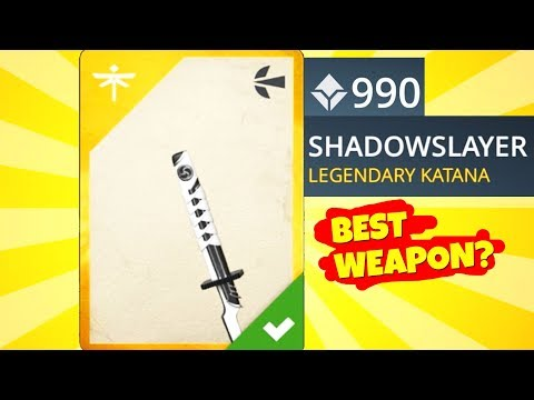 Shadow Fight 3. I GOT SHADOWSLAYER, Legendary Katana! Gameplay and Review. Is It Really Good???