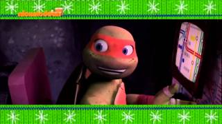 TMNT Christmas 2014 Bumper 1 [Nickelodeon Greece]